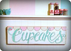 cupcake sign love #cupcakes