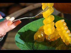 κολοκύθι αρίδα γλυκό kolokithi arida pumkin sweet recipe - YouTube Preserves, Sweet Recipes, Cooking Recipes, Herbs, Sweets, Stuffed Peppers, Vegetables, Desserts, Spoon