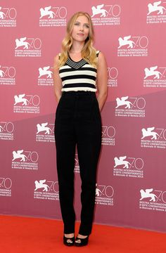 Scarlett Johansson attends 'Under The Skin' Photocall during the 70th Venice International Film Festival at Palazzo del Casino on September 3, 2013 in Venice, Italy. 2
