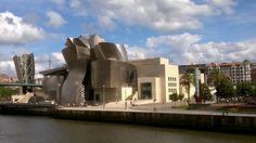#Guggenheim museum #Frank O. Gehry #Bilbao