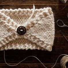 FREE Headband Knitting Pattern : Perfectly Imperfect : Brome Fields