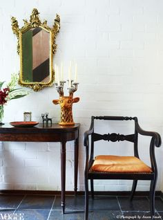Deidre Broughton's Sydney home was built and initially decorated 40 years ago but manages to manifest eternal style. In the foyer are a 19th-century Venetian gilt mirror and 18th-century English card...