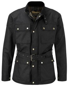 CLASSIC WAX COTTON MOTORCYCLE JACKET | Coats & Jackets | speedwear-ltd