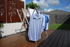 Clothes airer, clothes dryer, clothes drying rack. Portable, lightweight washing line laundry solution| Hanging Stuff Clothes Airer Australia