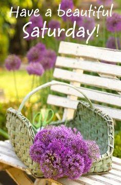 Have a beautiful Saturday! ❤️