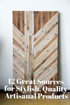 Shop Smart: 12 Great Sources for Stylish, Quality Artisanal Products | Apartment Therapy