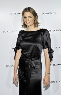 "#StanaKatic at the British Fashion Council & Stylebop.com: ""London Style Suites"" cocktail party (2013)"