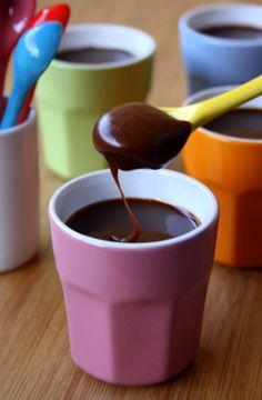 Crème dessert au chocolat et carambar