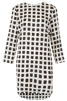 I'm really diggin' the grid pattern right now / Top Shop