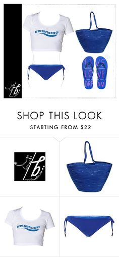 """Going to Swimming"" by bgmmstore ❤ liked on Polyvore featuring Doug Johnston, Seilenna, Aéropostale, white, Blue, croptop, swimming and bgmmstore"