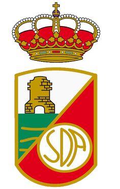 1929, RSD Alcalá (Alcalá de Henares, Comunidad de Madrid, España) #RSDAlcalá #AlcaládeHenares #Madrid (L19133) Football Team Logos, Stickers, Torrevieja, Soccer, Symbols, Badges, San, The World, Sports