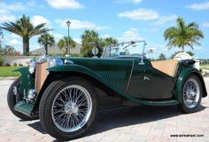 MG 1946 TC. see our blog on this and many other great cars on www.in2motorsports.com