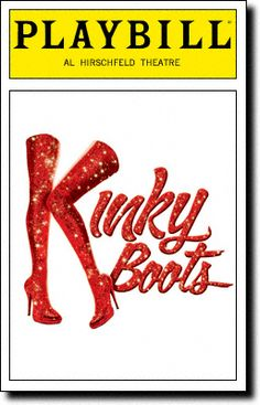 kinky boots | ... Broadway & Movie Blog: theatre review KINKY BOOTS, Broadway, March 7