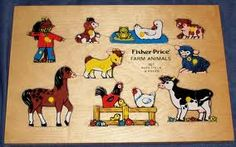 Fisher Price puzzle.