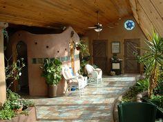 Black Forest passive solar tire house by theentiremikey, via Flickr