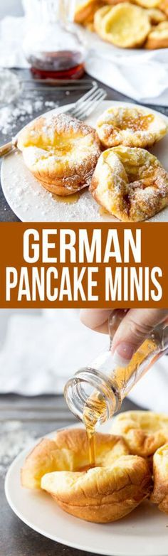 German Pancake Minis are one of the best and easiest breakfast options! My kids love these and always beg for seconds. http://www.eazypeazymealz.com/german-pancake-minis/?utm_campaign=coschedule&utm_source=pinterest&utm_medium=Rachael%20%40%20EazyPeazyMealz&utm_content=German%20Pancake%20Minis