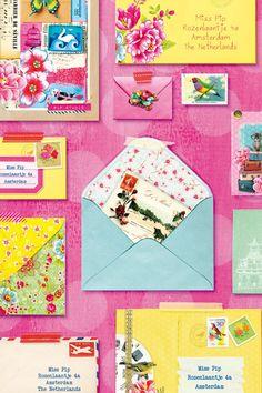 PiP You've Got Mail Pink Wallpaper