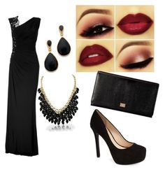 """Women in black"" by destinyreyes9255 on Polyvore"