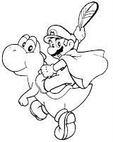 mario coloring page | coloring pages of epicness | pinterest | mario - Super Mario Yoshi Coloring Pages