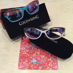 Come visit Shore Optical to see our newest Coco Song Eyewear!  www.shoreeye.com  #taniameredithphotography #cocosong #eyewear #styleinspiration #shoreeyeassociates #shoreoptical #instagood