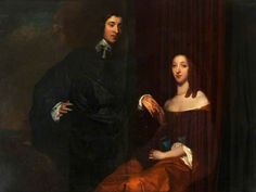 Thomas Fairfax, 3rd Lord Fairfax and his Wife, Anne, by William Dobson (1611-1646)
