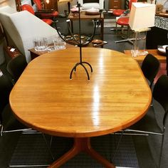 "TEEGEEBEE midcentury (@teegeebee.midcentury) posted on Instagram: ""Well it was going to be a 🐣 NEW ARRIVAL 🐣 but it 💥SOLD💥 before I could post it! #skovmandandersen #danishmodern #teakdiningtable…"" • Jul 10, 2020 at 2:28am UTC"