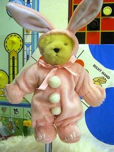 Hoppy Vanderhare Pink Rabbit 1982 Muffy Vanderbear Bear Couture Collection Nwt