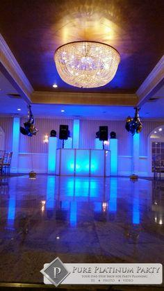 #pureplatinumparty #weddingdj #weddingentertainment #njbride #nybride #ledfacade #uplighting #lighttrusses