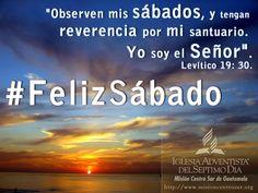 Llega el Sábado, día de alegría y bendiciones. Dios nos acompañe este día y disfrutemos de su compañía. ¡¡ FELIZ SÁBADO !!
