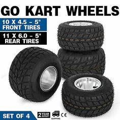 Go Kart Wheels Go Kart Rain Tires Set of 4 Drift Thrike Buggy Front and Rear Go Kart Wheels, Scooter Wheels, Scooter Bike, Go Kart Buggy, Radio Flyer Wagons, Karts, Go Car, Drift Trike, Quad Bike