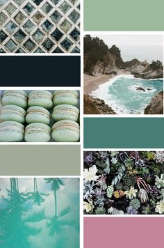 we are the figuettes // summer coulour palette