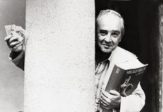 Vanni Scheiwiller (Milano, 8 febbraio 1934 – Milano, 17 ottobre 1999). Foto di Fulvio Farassino