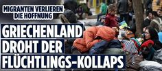 Migranten verlieren die Hoffnung | Griechenland droht der Flüchtlings-Kollaps