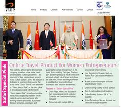 """Once again Axis Softech in eye of leading media, """"Praveg Tourism One"""" leading tourism magazine covers us because of our newly launched online travel product """"Safari Special Pink"""" for Women Entrepreneurs. For more information please visit : http://www.axissoftech.com/safari-special-pink.html"""