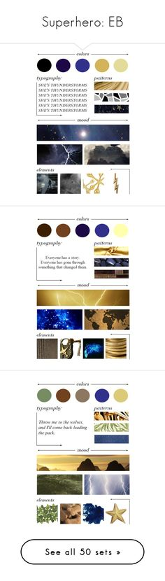 """""""Superhero: EB"""" by eb-writer-girl on Polyvore featuring art, ebbeautystuff, elliewrcharacterchallenge, L. Erickson, LineShow, Emporio Armani, MSGM, Sarah Chloe, Bling Jewelry and Marc by Marc Jacobs"""