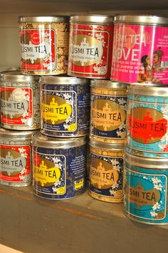 Kusmi tea...some of the best...especially the Prince Vladimir!