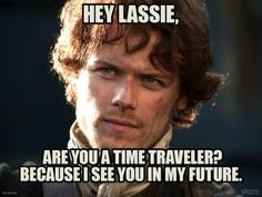 Jamie Fraser's future is so bright, he needs to wear shades--except for the BJ Randall parts, which are nae so gud.