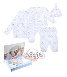 Komplet dla noworodka Iskierka  z miękkiej bawełny   www.sofija.com.pl  #babyshower #babygift #kinder #babygeschenk #kids #baby #dziecko #prezent #niemowlak #wyprawka #sofija #ubranka #подарокребенку #ребенок