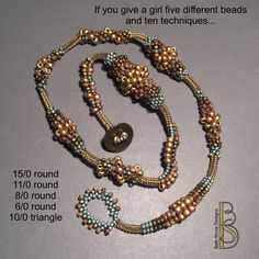 Beth Stone Designs. Picture only. Bead Play Every Day