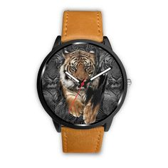 Premium Tiger Watch – Wear Saga Tigers, Saga, Your Style, Stainless Steel, Watches, How To Wear, Accessories, Wristwatches, Clock