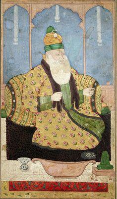 Portrait of a Sufi sheikh 1670