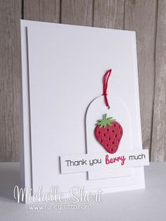The Card Grotto: Clealy Whimsy Stamps Berry Much
