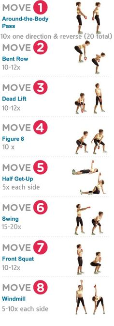 Kettlebell Moves #strong #fitness
