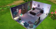 Studio Sims Creation: Comfort Bedroom • Sims 4 Downloads