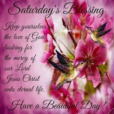 saturday day blessings - Buscar con Google