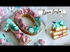 (389) SZÁMTORTA 🔢 NUMBER CAKE✨ - BebePiskóta - YouTube Number Cakes, Numbers, The Creator, Birthday Cake, Cookies, Desserts, Youtube, Food, Bebe