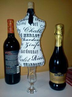 Wine lovers!!! Pin cushion .