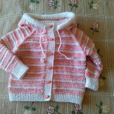 Propínací holčičí svetřík s pixie kapucou 68-74-80 Hoodie, Pullover, Pixies, Sweaters, Fashion, Breien, Moda, Fashion Styles, Parka