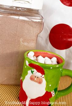 Hazelnut Hot Cocoa Mix - LOVE!!!  This is my permanent recipe for now on!