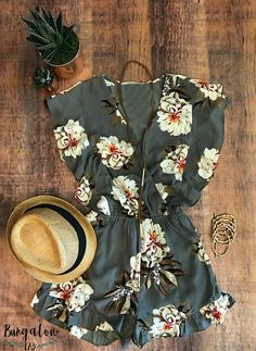 SHOP the Fallan Romper! -->> https://bungalow123.com/collections/new-arrivals/products/fallan-romper -Free Domestic Shipping!-